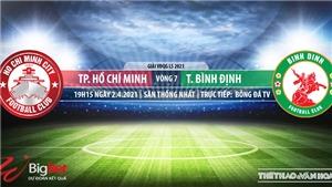 Soi kèo nhà cái TPHCM vs Bình Định. BĐTV. Trực tiếp bóng đá Việt Nam hôm nay