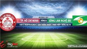 Soi kèo nhà cái TPHCM vs SLNA. BĐTV. Trực tiếp bóng đá Việt Nam hôm nay