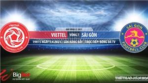 Soi kèo nhà cái Viettel vs Sài Gòn. BĐTV. Trực tiếp bóng đá Việt Nam hôm nay