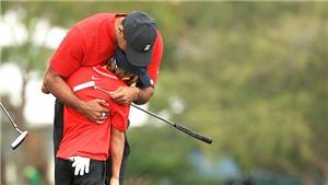 Hổ phụ sinh hổ tử: Cha con nhà Woods trên cùng sân đấu…