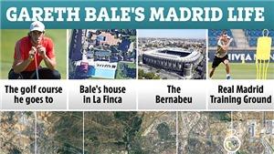 Cận cảnh cuộc sống xa hoa của Gareth Bale ở Madrid