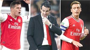 Arsenal: Xhaka và Oezil khốn khổ vì Emery