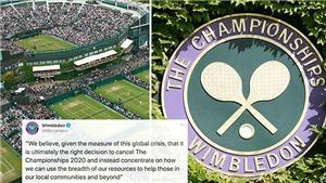 Tennis: Wimbledon sẽ nhận 100 triệu bảng tiền bảo hiểm