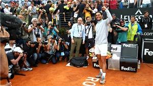 Roma Masters 2019: Nadal giải khát, Federer phá dớp?
