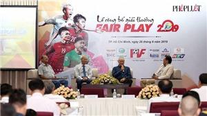 HLV Lê Thụy Hải đề cao hành động Fair Play