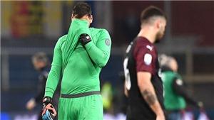 Milan thua từ sai lầm của Donnarumma: Điều phải đến đã đến