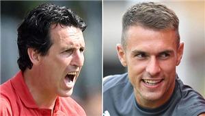 Arsenal: Ramsey có thể tỏa sáng nhờ Emery?