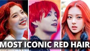 Mái tóc đỏ đẹp 'lóa mắt' của các thần tượng K-pop