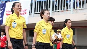 Hai nữ trợ lý trọng tài vượt qua bài test thể lực, chuẩn bị cầm cờ giải hạng nhất
