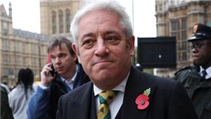Chủ tịch Hạ viện Anh tuyên bố vẫn tại nhiệm