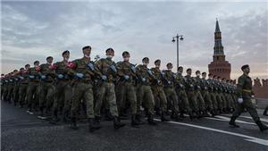 Nga: Diễn tập quy mô trên Quảng trường Đỏ chuẩn bị cho lễ duyệt binh