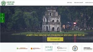Ra mắt website 'Cam kết của công dân Hà Nội'
