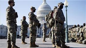 Vệ binh quốc gia Mỹ bị FBI sàng lọc trước khi tham gia lễ nhậm chức của Tổng thống Joe Biden