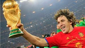 Carles Puyol - người hùng của Tây Ban Nha ở World Cup 2010