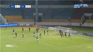 Video bàn thắng Than Quảng Ninh 1-0 Bình Dương: Chiến thắng kịch tính
