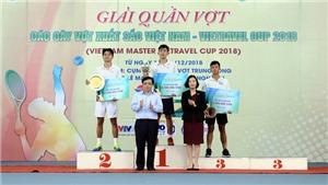 Tài năng trẻ Văn Phương đoạt cú đúp vô địch Giải quần vợt các cây vợt xuất sắc Việt Nam 2018