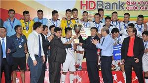 Thái Sơn Nam tiếp tục thống trị futsal Việt Nam