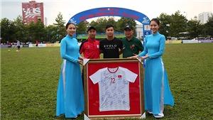 Học trò HLV Park Hang Seo làm từ thiện, đội bóng châu Phi vô địch TL5