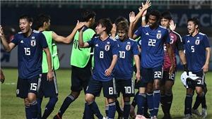 Huỷ diệt U19 Guam 10-0, U19 Nhật Bản gây áp lực cho U19 Việt Nam
