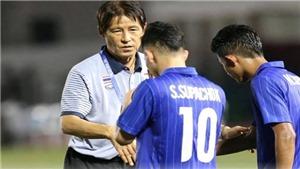 HLV U22 Thái Lan lại chơi 'chiêu' khi đấu thầy Park