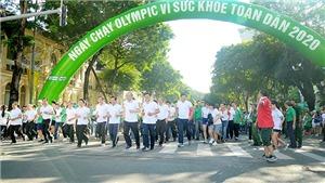 TP.HCM rộn ràng với Ngày chạy Olympic Vì sức khoẻ toàn dân