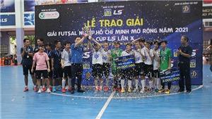 Thái Sơn Nam Quận 8 vô địch giải futsal TP.HCM mở rộng
