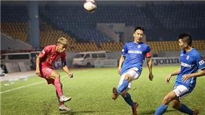 Sài Gòn FC rơi xuống cuối bảng xếp hạng V-League