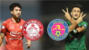 Video bàn thắng TPHCM 1-0 Sài Gòn: Điểm sáng Lee Nguyễn, sai lầm Văn Ngọ