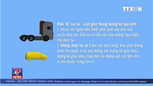 TAND tỉnh Thái Nguyên phải báo cáo vụ lùi xe trên đường cao tốc