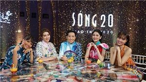 Trấn Thành cùng 'bộ tứ mỹ nhân' dẫn dắt chương trình 'Sóng 20' đêm Giao thừa