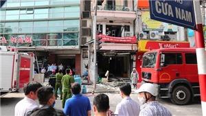 Chùm ảnh: Nổ bình ga tại ngôi nhà 5 tầng ở phố Cửa Nam, Hà Nội