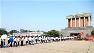 Tiếp tục tổ chức viếng Lăng Chủ tịch Hồ Chí Minh từ ngày 12/5