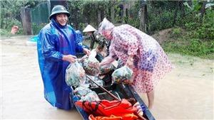 Quảng Bình: Mưa lũ khiến hơn 11.000 ngôi nhà dân bị ngập, nhiều thôn bản bị chia cắt cục bộ
