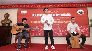Ca sĩ Tấn Minh: '15-16 tuổi tôi đã yêu nhạc Phú Quang rồi'