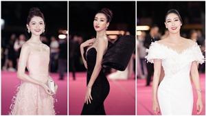 Dàn sao lộng lẫy trên thảm đỏ Chung kết Hoa hậu Việt Nam2020