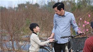 Diễn viên nhí Minh Anh xúc động khi đóngcon trai NSND Trung Anh trong phim Tết