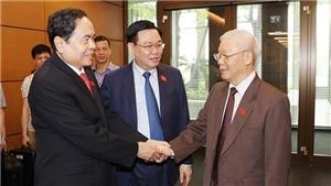 Bầu 3 Phó Chủ tịch Quốc hội và trình Quốc hội miễn nhiệm Thủ tướng Chính phủ