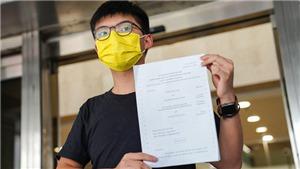 Tòa án Hong Kong (Trung Quốc) phạt tù Hoàng Chi Phong do tụ tập bất hợp pháp