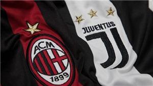 Trực tiếp AC Milan vs Juventus (02h30 ngày 12/11) trên kênh nào?