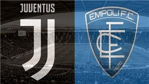 Xem trực tiếp bóng đá Juventus vs Empoli (00h00, 31/03). Trực tiếp bóng đá Ý