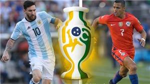 Trực tiếp bóng đá Argentina vs Chile, Copa America 2019 (02h00 ngày 7/7)