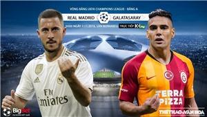 Soi kèo Real Madrid đấu với Galatasaray. Trực tiếp bóng đá C1 (K+, K+PM, K+PC, K+1, K+NS)
