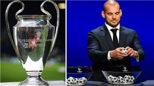 Trực tiếp bốc thăm vòng 1/8 Cúp C1. Trực tiếp bốc thăm Champions League