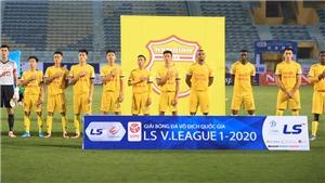 KẾT QUẢ BÓNG ĐÁ: Nam Định 2-1 Hà Tĩnh: Đổ Merlo và Sỹ Minh ghi bàn, Nam Định đánh bại Hà Tĩnh