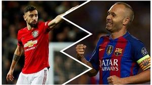 MU: Bruno Fernandes tiết lộ đã học hỏi Iniesta để chơi tốt hơn