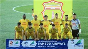Lịch thi đấu vòng 1/8 Cúp quốc gia 2020. Lịch thi đấu bóng đá Việt Nam