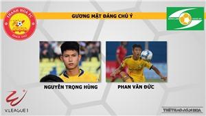 Soi kèo bóng đá Thanh Hóa vsSLNA. Trực tiếp bóng đá V-League 2020