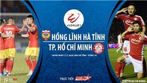 Soi kèo bóng đá Hà Tĩnh vsTPHCM. Trực tiếp bóng đá V League 2020