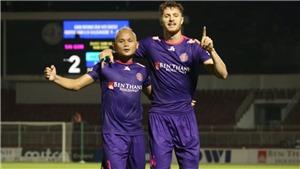 Sài Gòn 3-0 Nam Định: Duy trì thành tích bất bại, Sài Gòn xây chắc ngôi đầu V-League