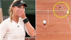 Pháp mở rộng: Cận cảnh tình huống gây tranh cãi khiến VĐV yêu cầu đưa VAR vào tennis